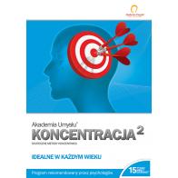 Akademia Umysłu KONCENTRACJA cz.2 - produkt z tej samej kategorii