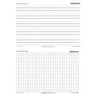 DUO Tablica do pisania w linię / kratkę - produkt z tej samej kategorii