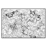 Plakat do kolorowania - motyle na łące - produkt z tej samej kategorii