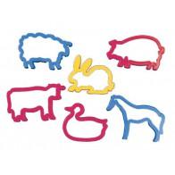 Foremki do wykrawania - zwierzęta wiejskie - produkt z tej samej kategorii