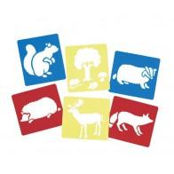 Szablony - zwierzęta leśne - produkt z tej samej kategorii