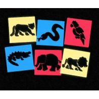 Szablony - zwierzęta egzotyczne - produkt z tej samej kategorii