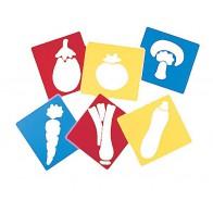 Szablony - warzywa - produkt z tej samej kategorii