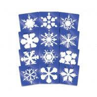 Szablony duże - płatki śniegu   - produkt z tej samej kategorii