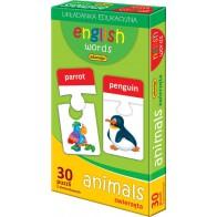 English words - zwierzęta