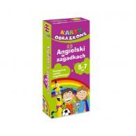 Karty obrazkowe - angielski w zagadkach - 4-6 lat