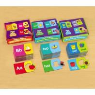 Angielskie słowa - puzzle obrazkowe