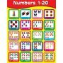 Plansza angielska - liczby 1-20