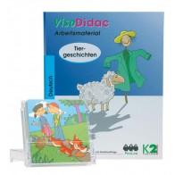 Karty pracy do historyjek obrazkowych: Tiergeschichten - Opowiadania o zwierzętach