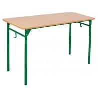 Stolik typu NN 64 cm zielony