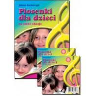 ZESTAW - Piosenki dla dzieci na różne okazje (książka + płyta CD)