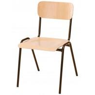 Krzesło NOVUM 46 brąz