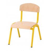 Krzesło wys.21 żółte