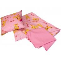 Pościel różowa - kpl.