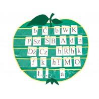 Makatka edukacyjna Jabłko