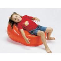 Sensoryczna piłka owalna 50 cm / 80 cm - pomarańczowa