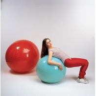 Duża piłka sensoryczna 65 cm - seledynowa