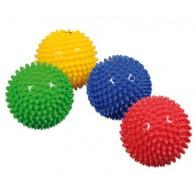 Piłeczki sensoryczne - jednolite kolory - 10 cm - 4 sztuki