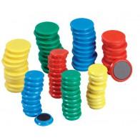 Magnesy okrągłe 30 mm - 40 sztuk