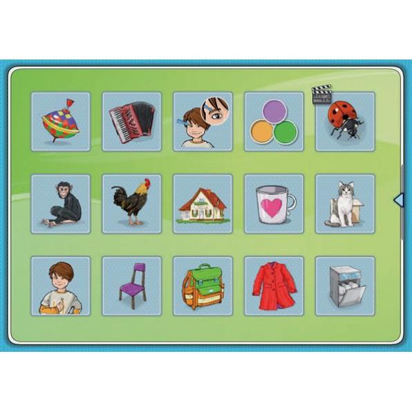 Obrazkowy słownik tematyczny - część 1 i 2