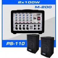 Zestaw nagłośnieniowy Box Electronics SET-200