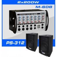 Zestaw nagłośnieniowy Box Electronics SET-400