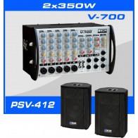 Zestaw nagłośnieniowy Box Electronics SET-700
