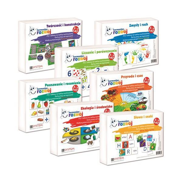 Harmonijny rozwój – zestaw 7 pakietów.