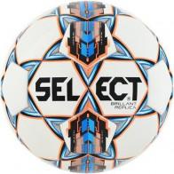 Piłka nożna Select Brillant REPLIKA biało/pom/nieb 2017