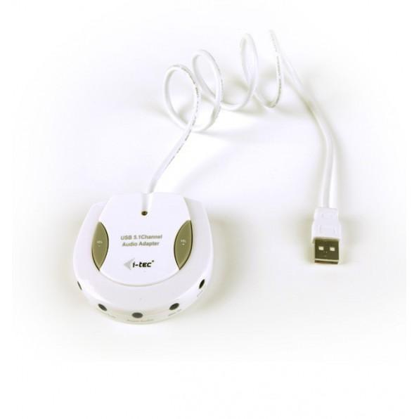 ITec USB zewnętrzna karta dźwiękowa 5.1