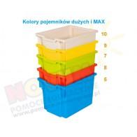 Pojemnik MAX żółty