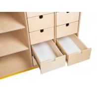 Przewijak Komoda z 10 szufladami lewa 1 - sklejka