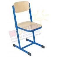 Krzesło reg.C czarne 31-38