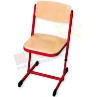 Krzesło reg.C czerwone 31-38