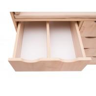 Przewijak z szufladami