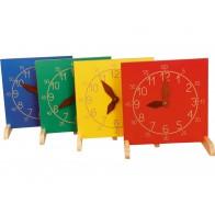Zegar NOVUM żółty