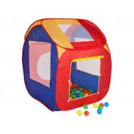 Domek zabaw z piłeczkami