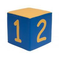 Kostki piankowe Cyfry - 1,2,3,4