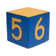 Kostki piankowe Cyfry - 5,6,7,8