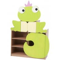Żabka szeroka - szafka pastelowa