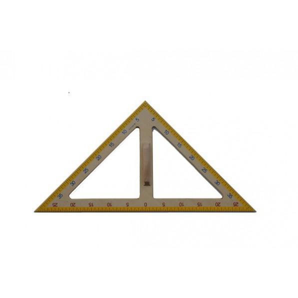 Trójkąt tablicowy - 45 º
