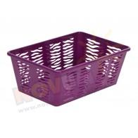 Koszyk Zebra Z4 - kolor śliwka