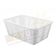 Koszyk Zebra - biały