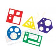Figury geometryczne - szablony