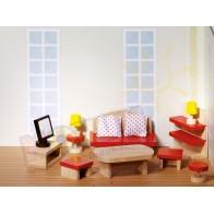 Mebelki drewniane Salon