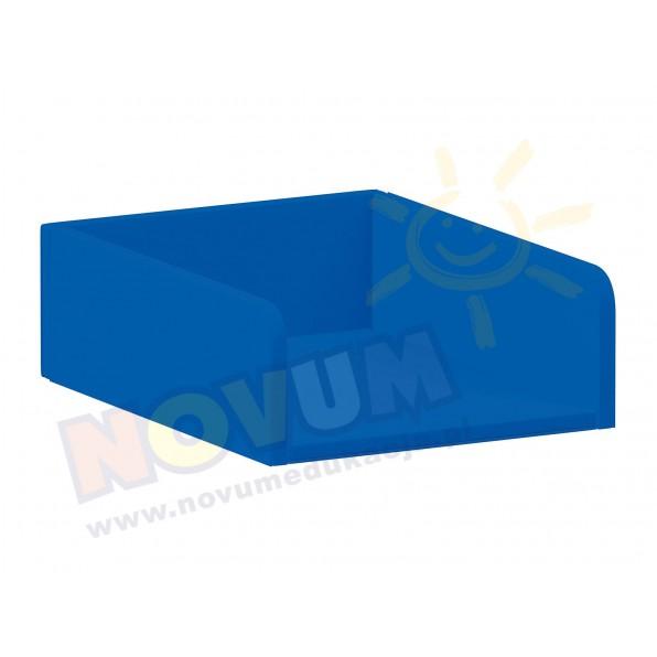 Materac do przewijaka z półkami, niebieski