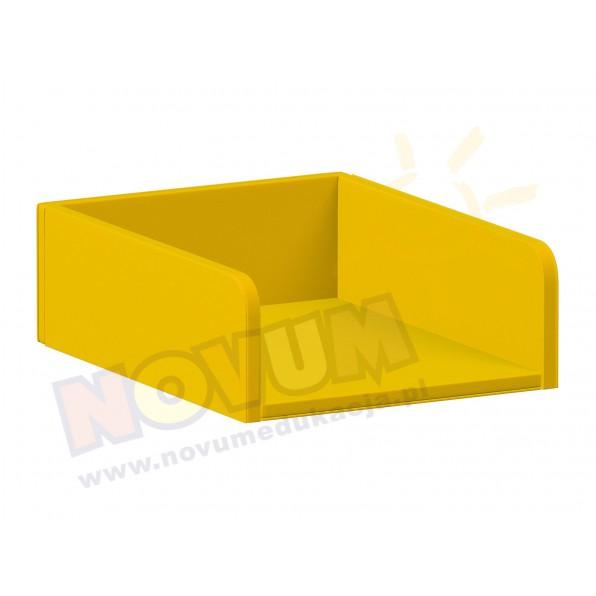 Materac do przewijaka z półkami, żółty