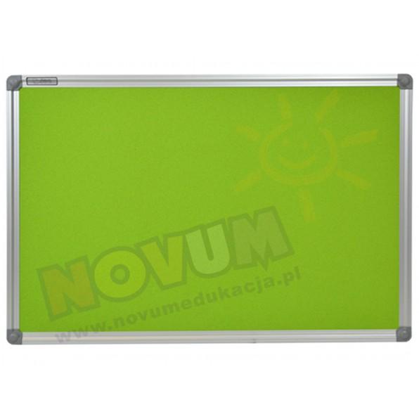 Tablica korkowa w aluminiowej ramie 100 x 200 cm - zielona