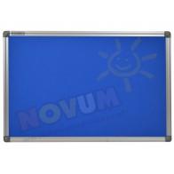 Tablica korkowa w aluminiowej ramie 100 x 200 cm - niebieska