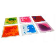 Sensoryczne płytki podłogowe 30x30 (6 szt.)